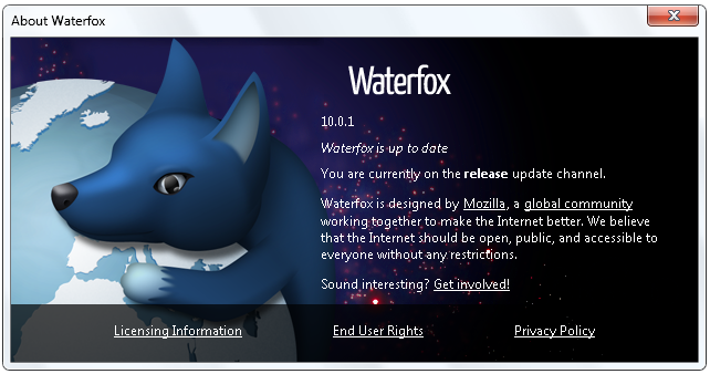 Waterfox is faster , A Firefox's clone ,Optimized for 64-bit
