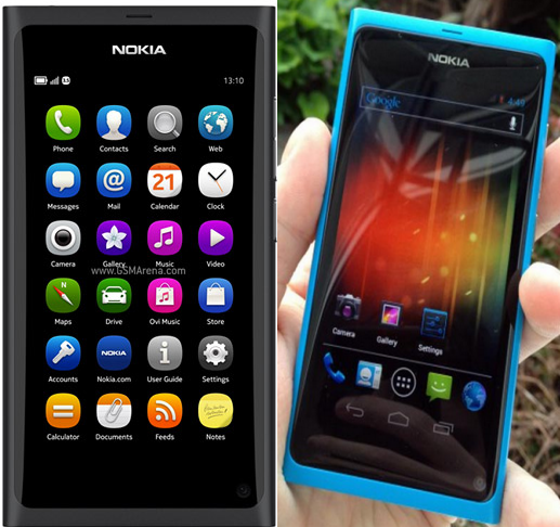 Image result for Nokia Android Phone N9